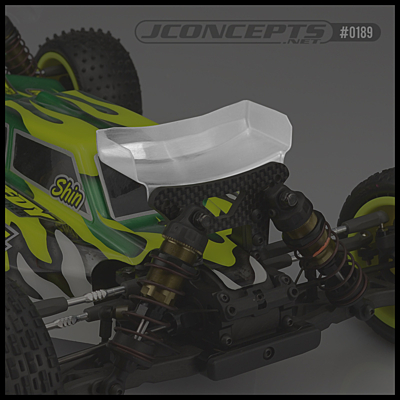 JConcepts Aero Yokomo YZ-4SF Front Wing - Narrow (2pcs)