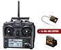 Sanwa Exzes-ZZ Stick Radio + RX-472 & RX-482 Receiver & Charger