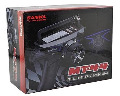 Sanwa MT-44 Radio + 2x RX-482 Receiver