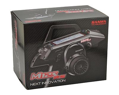 Sanwa M12S-RS Radio + 2x RX-482 Receiver