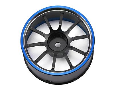 Sanwa M12/M12S Aluminum Steering Wheel (Blue)