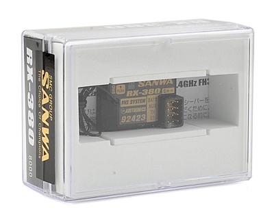 Sanwa RX-380 (2.4GHz, 3-Channel, FHSS-3) Receiver