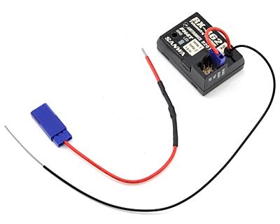 Sanwa RX-462 (2.4GHz, 4-Channel, FHSS-4T) Telemetry Receiver