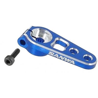 Sanwa Aluminum Servo Horn Clamp - Blue (23 teeth)