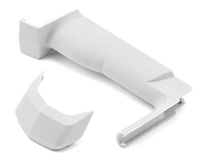 Sanwa M12/M12S Medium Grip & Cover Set (White)