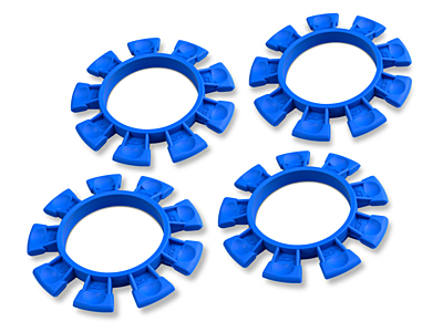 JConcepts Satellite Tire Rubber Bands - Blue (4pcs)