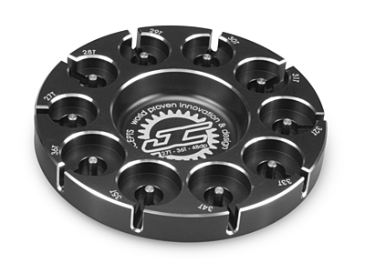 JConcepts Pinion Puck - Stock Range (27-36T in 48 Pitch) (Black)