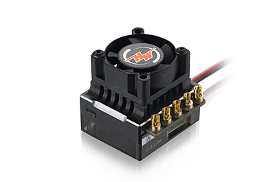 Hobbywing XeRun XR10 Justock Sensored Brushless ESC (Black)