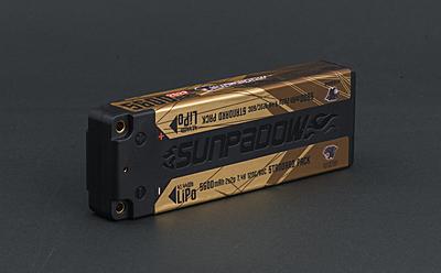 Sunpadow 5600mAh 7.4V 2S 120C/60C LiPo (4mm, 275g)