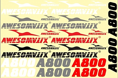Awesomatix STS - A800 Stickers Sheet