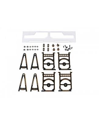 Arrowmax Set-Up System for 1/10 Touring Cars With Bag Black Golden V2