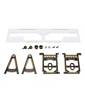 Arrowmax Set-Up System for 1/10 & 1/12 Pan Cars With Bag Black Golden