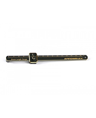 Arrowmax Shock Length Gauge Black Golden