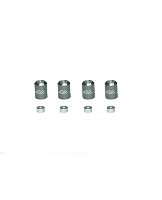 Arrowmax Body Post Marker for 1/8 Cars (Gray, 4pcs)
