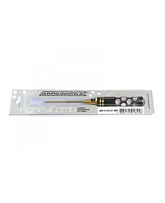 Arrowmax Allen Wrench 2.0 x 100mm Black Golden