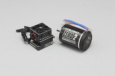 Yokomo Combo BL-PRO4 ESC & 10.5T Zero 2 Black Motor