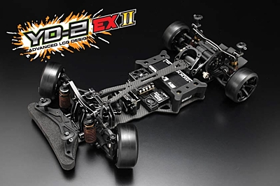 Yokomo YD-2EXII RWD Drift Car Kit (Matte Graphite Chassis)