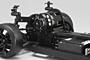 Yokomo YD-2S Plus RWD Drift Car Kit (Graphite Chassis)