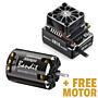 Hobbywing XeRun XR10 PRO 160A Sensored Brushless ESC (Black) + FREE 21.5T Bandit V10 Motor