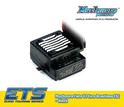 Muchmore FLETA Euro V2 Brushless ESC Black (ETS 2018/19)