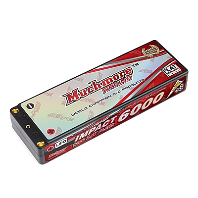 Muchmore IMPACT LCG HV FD3 Li-Po Battery 6000mAh/7.6V 120C Flat Hard Case