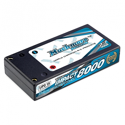 Muchmore IMPACT FD2 Li-Po Battery 8000mAh/3.7V 110C Hard Case (1/12 Racing)