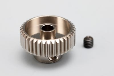 Yokomo 43T Hard Precision Pinion Gear (64Pitch·Light Weight)