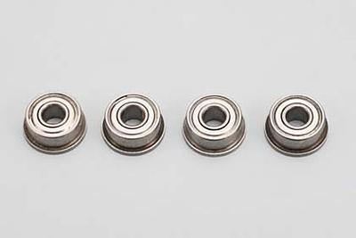 Yokomo 5/16x1/8x9/64 Flanged Ball Bearing (4pcs)