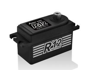 Power HD R12 Low Profile (0.06s/12.0kg/7.4V) Coreless Servo