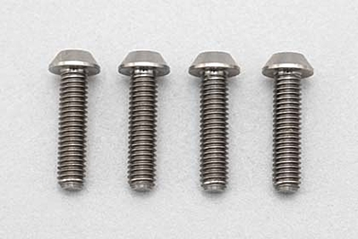 Racing Performer Precision Machined Titanium BH Socket Screw M3×12mm (4pcs)