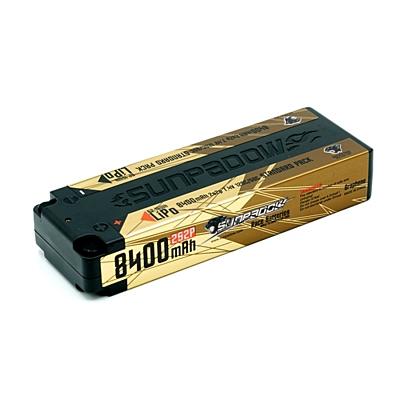 Sunpadow 8400mAh 7.4V 2S 120C/60C LiPo (4mm, 324g)