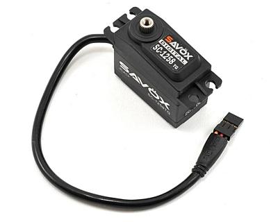 Savöx SC-1258TG Black Edition (0.08s/12.0kg/6.0V) Coreless Servo