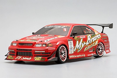 Yokomo Team22 FNATZ JZX100 Mark II 275 Body Set (D1 Graphic)