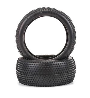 Schumacher Mini Pin - 1/8th Tyres  - Yellow (1 pair)