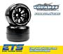 Volante F1 Rear Rubber Slick Tires Carpet Soft Compound Preglued (2pcs)