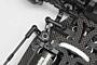 YD-4 Aluminum Steering Bell Crank (Bevel Edge)