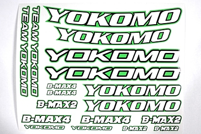 Yokomo Offroad Racing Stickers (green)