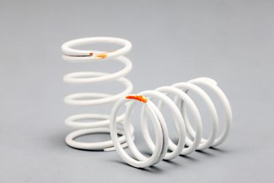 Yokomo PRO Shock Spring (Long Type·Orange)