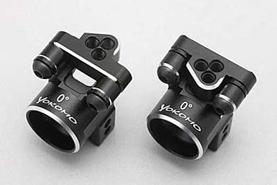 YZ-2CA/YZ-4 Aluminum offset rear hub carrier set (0°) for Z4-008RS4/008RL5 suspension arm