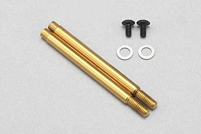 YZ-2/YZ-4 Front X33 Shock Shaft (Gold Titanium Coating)