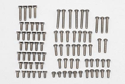 YZ-2DT Titanium M3 Screw Set (84pcs)