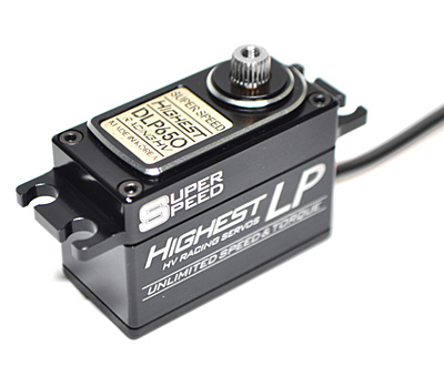Highest DLP650B Low Profile (0.06s/8.3kg/7.4V) Coreless Servo