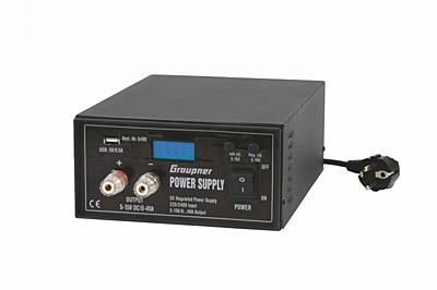 Graupner Power Supply, 5-15V / 0-40A
