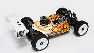 Bittydesign Force Clear Body for AGAMA A8 EVO (1:8 Offroad)