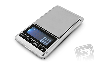 Stainless Steel Pocket Scale (500g/0.01g)