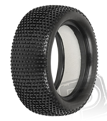 """Pro-Line Hole Shot 2.0 2.2"""" 4WD M4 (Super Soft) Off-Road Buggy Front Tires (Impact Firm Inserts)"""