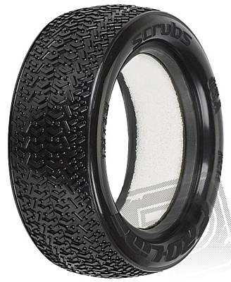 "Pro-Line Scrubs 2.2"" 4WD M4 (Super Soft) Off-Road Buggy Front Tires"