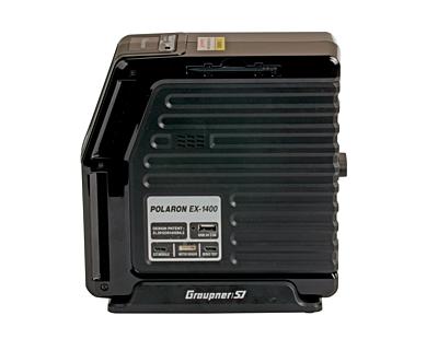 Graupner Polaron EX1400 DC (12V) Charger (2x30A) Silver