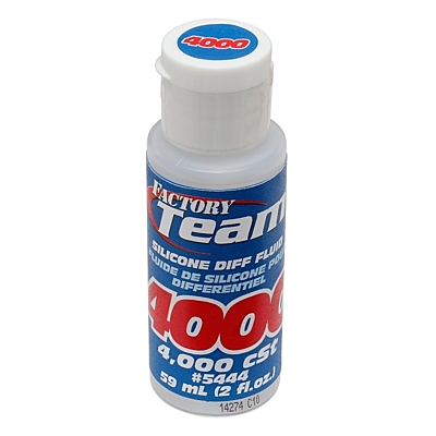 Associated FT Silicone Diff Fluid 4,000cSt