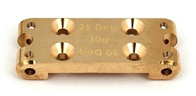Associated B6 FT Brass Bulkhead, 30g